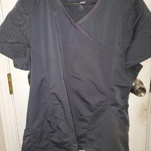 XL grey pant and shirt scrubs